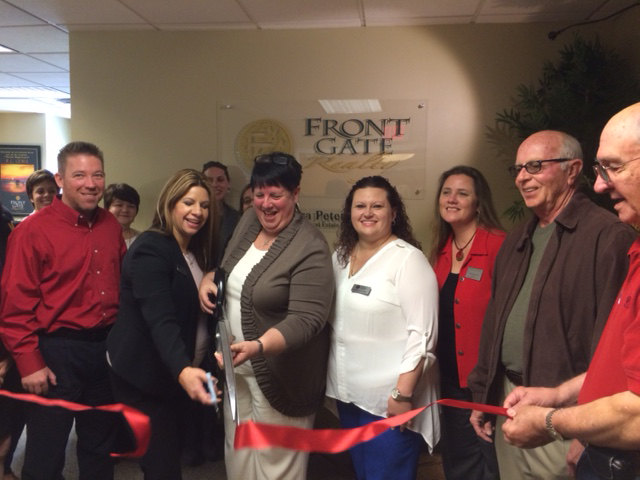Celebration Area Council - Ribbon Cutting - Front Gate Realty