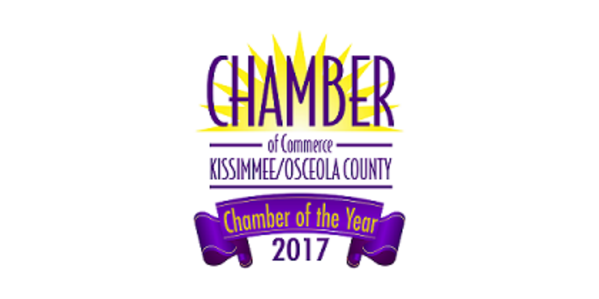 Kissimmee Chamber Wins 2017 Chamber Of The Year!!!
