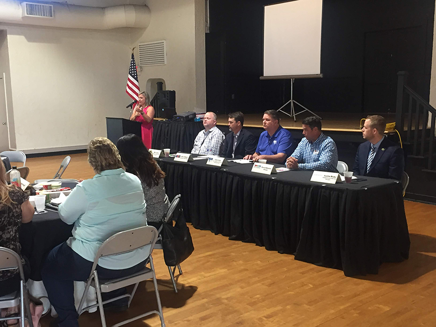 Hurricane Prep & Recovery Panel at Business Over Breakfast
