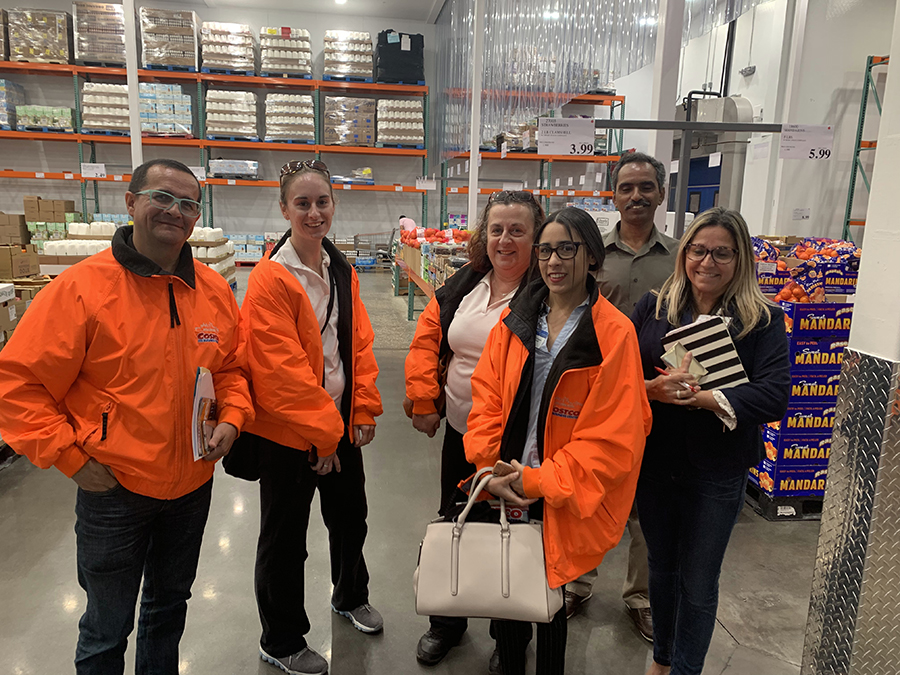 PBC seminar attendees tour the Costco Business Center