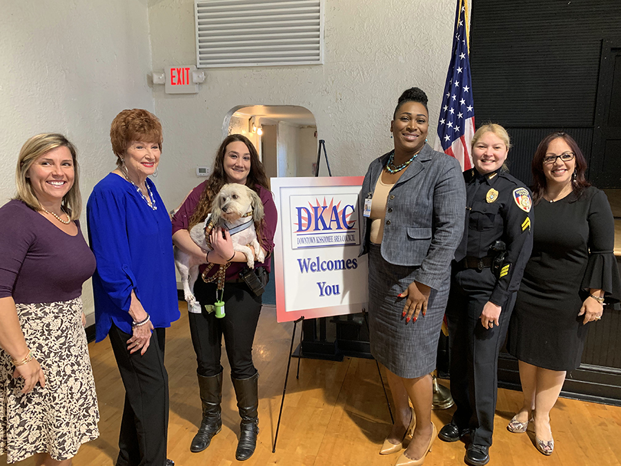 The DKAC hosted a Women in Business panel for International Women's Day