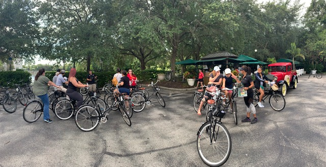 Kissimmee Is Me Goes On A Bicycle Scavenger Hunt