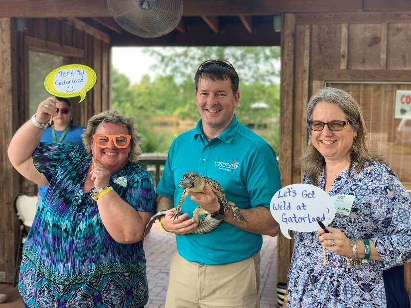 Parkways Business Council Hosts Link Osceola At Gatorland