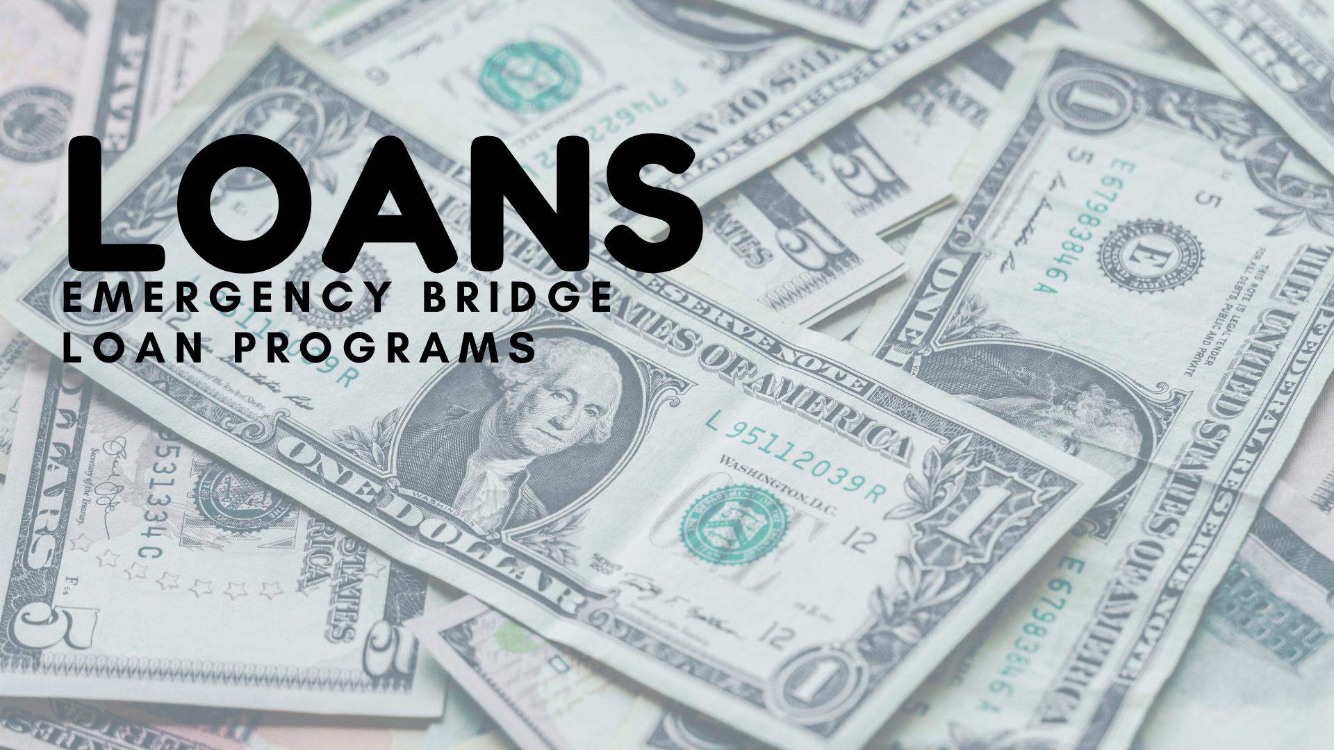 Loans:  Emergency Bridge Loans