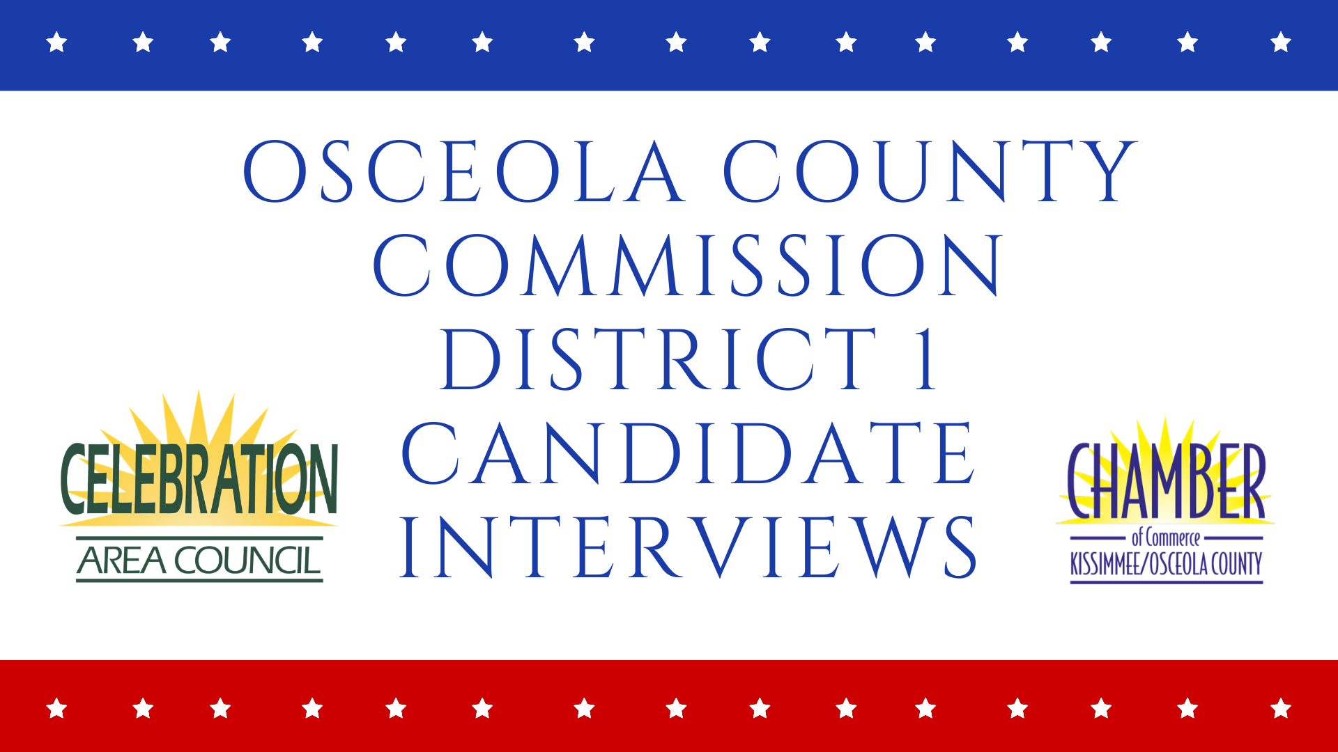 Celebration Area Council Holds Town Hall Conversations With Osceola County Commission Candidates