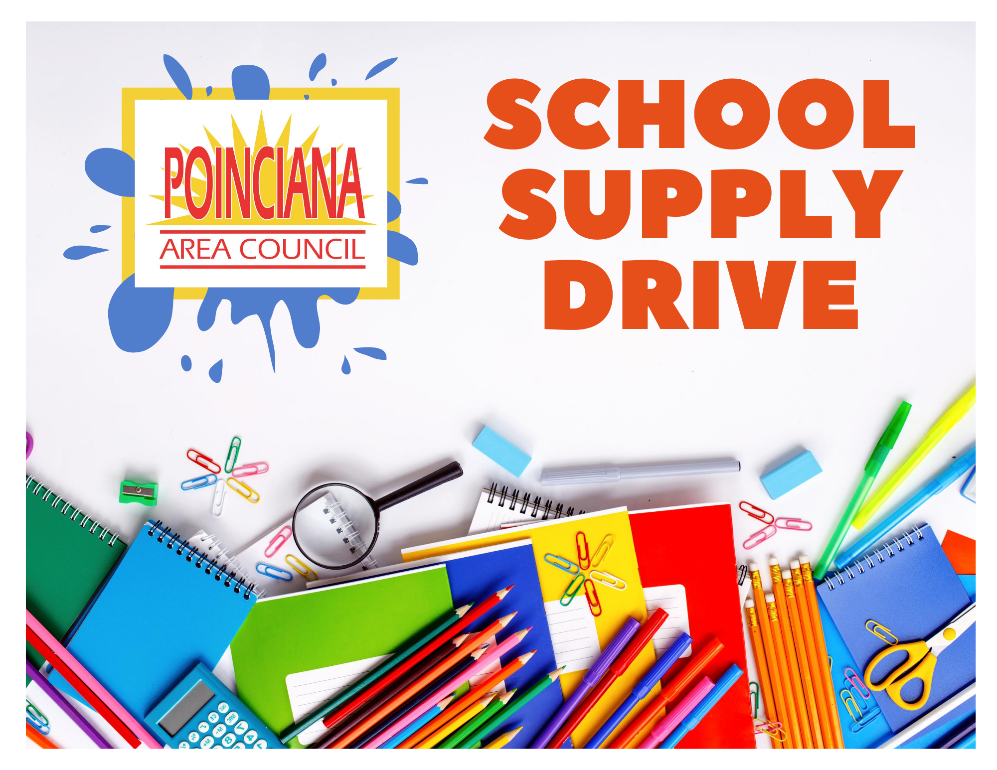 Poinciana Area Council Hosts School Supply/Virtual Funds Drive
