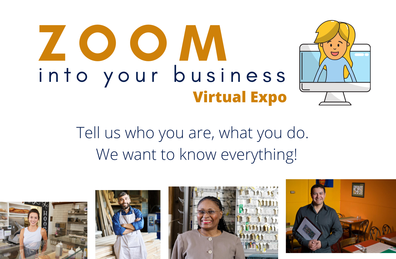 PAC's Zoom Into Your Business Virtual Expo