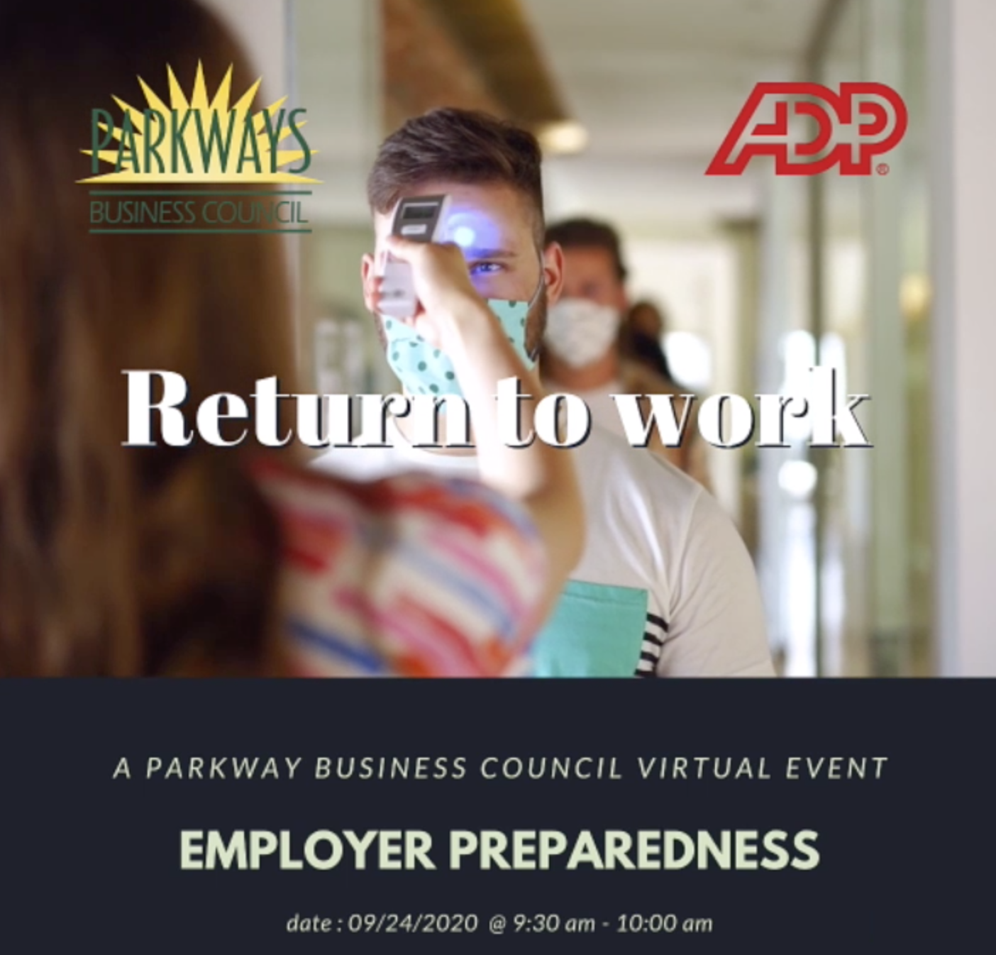 Parkways Business Council Presents Livestream On Return To Work Employer Preparedness.