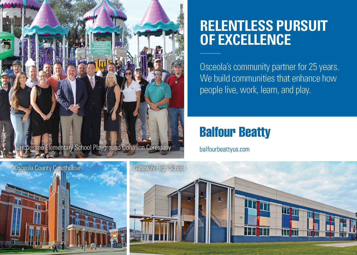 Balfour Beatty Kissimmee-Osceola County Chamber Ad
