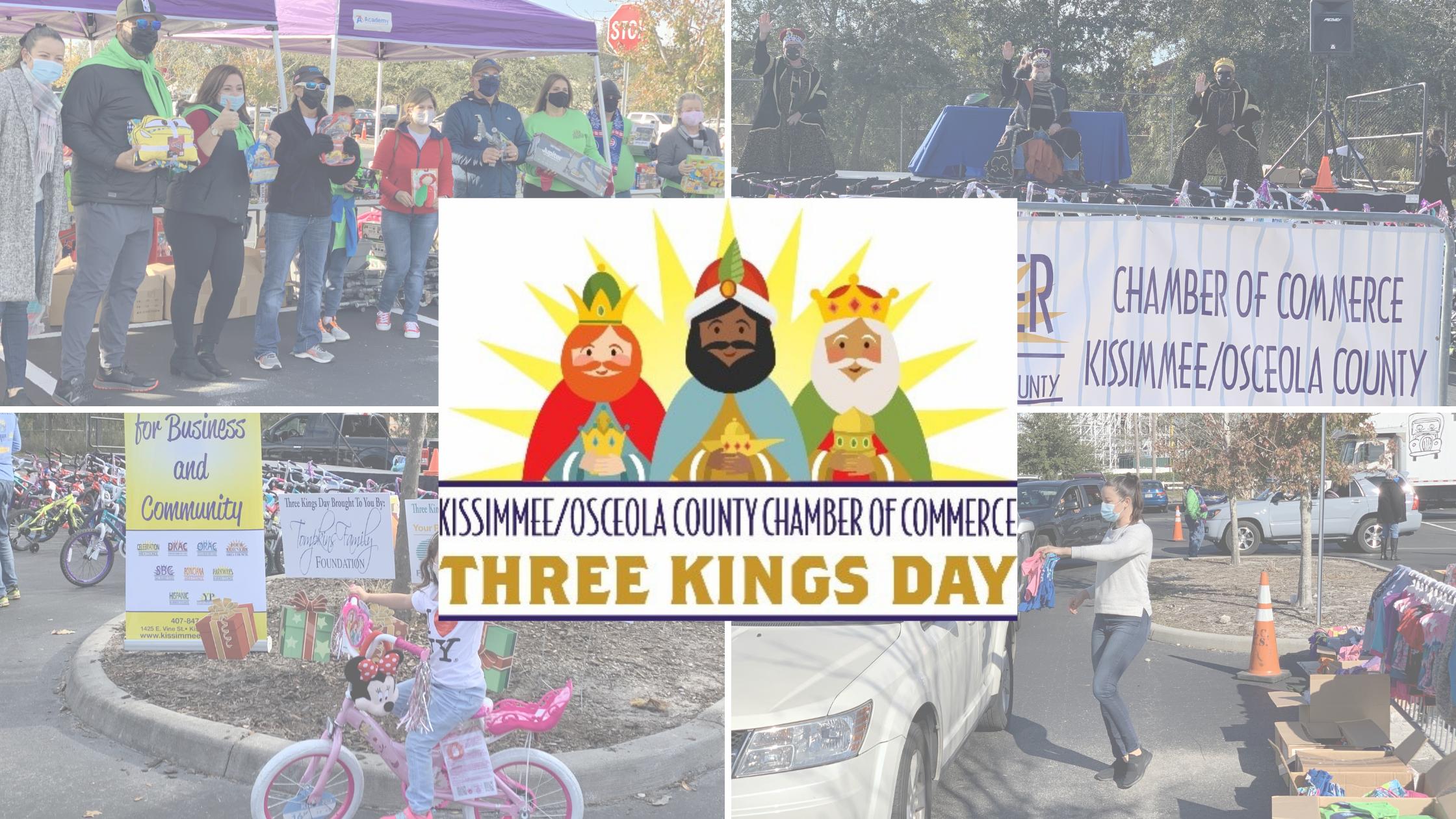 Kissimmee/Osceola Chamber Celebrates Three Kings Day!